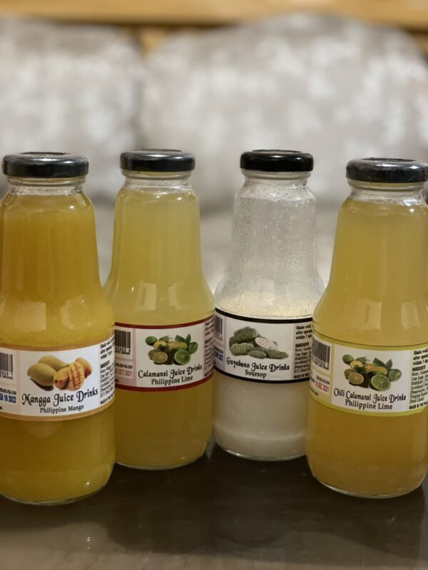 Ready to drink fruit and vegetable juices